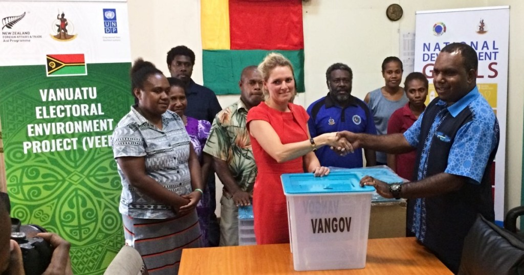 Enhancing electoral operations and integrity in Vanuatu