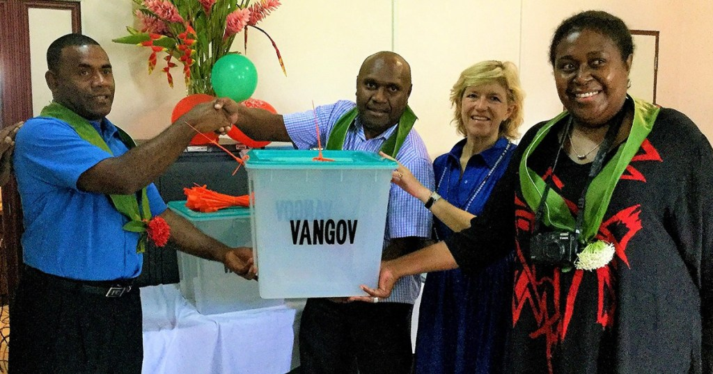 New Ballot Boxes Boosts Vanuatu's Electoral Office